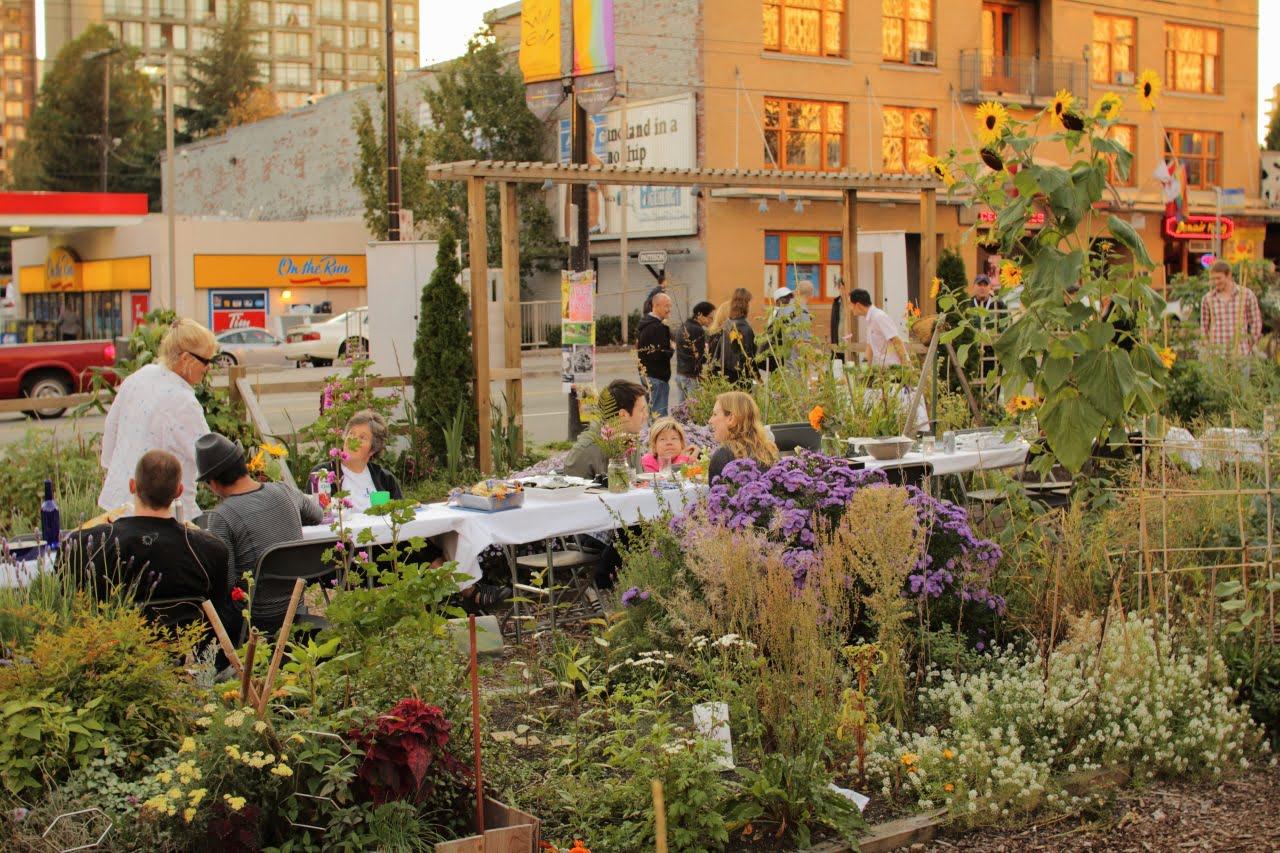 Vancouver community garden
